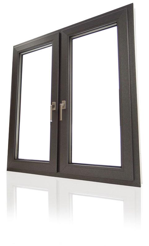 Das Bild zeigt Rehau Fenster Geneo86